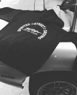 Burst Craft Spirited Street Driving Zip-Up Hoodie
